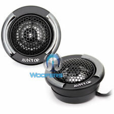 """FOCAL AUDITOR RIP-100T 1"""" ALUMINUM CAR DOME TWEETERS ANGLE FLUSH MOUNT PAIR NEW"""