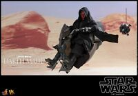 Hot Toys 1/6 Darth Maul with Sith Speeder Star Wars Episode Phantom Menace DX17