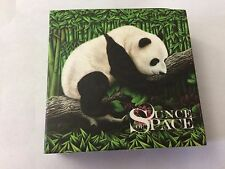 2016 Chinese Panda Silver OUNCE OF SPACE Nantan Meteorite Coin w/COA