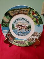 10 and skill game farm Catskill New York collector plate