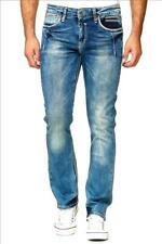 Rusty Neal Jeans New York 8323-29 Jeanshose mit Kontrastnähten
