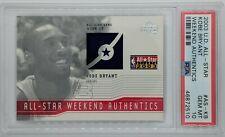 2003-04 UD All-Star Weekend Authentics KOBE BRYANT #AS-KB, Graded PSA 10, Pop 2