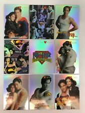 LOIS & CLARK: SUPERMAN Skybox 1995 Complete DIFFUSER CHIP Puzzle Chase Card Set