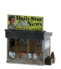 READ all about it NEWSPAPER and Magazine Stand HO Built and Detailed MODEL