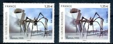 Variété - N°Yvert 4492 - 1 exemplaire bleu gris + 1 brun violet , Neufs luxe