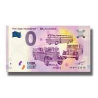 2019 Malta FEAE Mdina The Silent City Euro Billet Souvenir Banknote Euro Schein