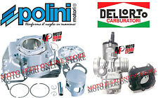 MF0209 - KIT CILINDRO POLINI APRILIA RS 125 ROTAX + CARBURATORE 34 COLLETTORE