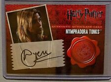Harry Potter-DH Pt1-Natalia Tena-Nymphadora Tonks-Signature-Movie-Autograph Card