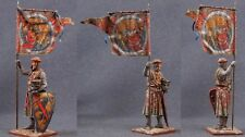 Tin toy soldiers ELITE painted 54 mm Knight of the Order of the Sword, 1202-1237