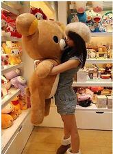 "New 80cm Cute San-x Rilakkuma Relax Bear 31"" Giant Stuffed Pillow Plush Doll Toy"