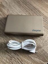 Energizer Max Power Bank Charger - 8000mAh! - Gold & Grey - UE8003 & 1m Cable!