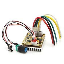 350W 5-36V DC Brushless motor Controller BLDC Three-phase Driver board 12V 24V