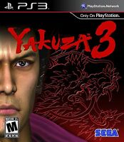 Yakuza 3 [PlayStation 3 PS3, Sony Exclusive, Tokyo Crime Syndicates, Action] NEW