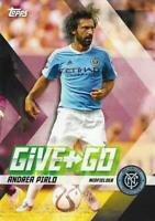 2017 Topps Major League Soccer 'Give and Go' Chase Insert Card - You Choose