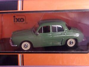 RENAULT DAUPHINE VERTE DE 1961 IXO CLC322N