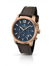 Accurist 7021 Gents Rose Gold Tone Stainless Steel Chrono Watch RRP £149.99