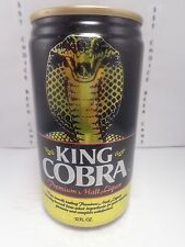 KING COBRA MALT LIQUOR ALUMINUM STAY TAB BEER CAN  SNAKE  ANHEUSER-BUSCH