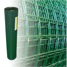 Volierendraht Grün 200cm 25m 19x19mm 1.20 mm Drahtgitter Gartenzaun Drahtzaun