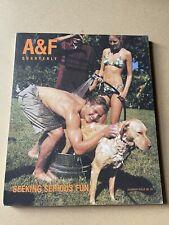 A&F Quarterly Abercrombie and Fitch Summer 1998 Seeking Serious Fun Bruce Weber