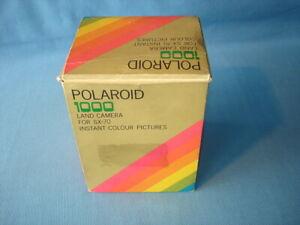 "(87)  POLAROID ""1000 pulsante verde"""