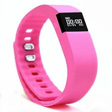LATEST 2017 FIT WATCH - Exercise Fitness Smart Watch bit Android Iphone PINK