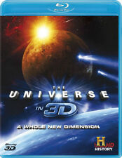 THE UNIVERSE IN 3D NEW BLU-RAY A WHOLE NEW DIMENSION