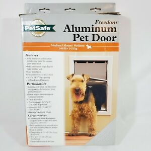 PetSafe Freedom Medium Aluminum Pet Door HPA11-11599 - For Dogs 1 to 40 Pounds