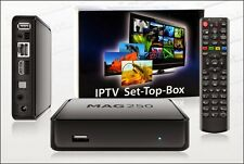 MAG 250 originale più recente Linux Iptv/OTT BOX multimedia Internet TV set-top box