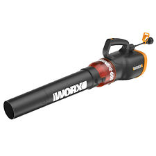 Worx Turbine600 20V 600 CFM Variable Speed Electric Handheld Corded Leaf Blower