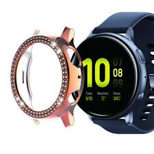 Diamond Case Bumper Protector Cover for Samsung Galaxy Watch Active2 44/40mm