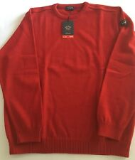 NEW Paul & Shark Yachting Sweater Pullover Blusotto RED WOOL 2XL XXL