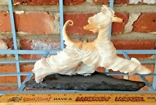 This Vintage Self Masked Cream Afghan Hound By June Leitch Will Move You!
