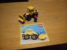 Lego lot vintage Bulldozer 6658 1986 100% complet