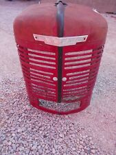 Farmall M Early Sm Ih Tractor Original Front Nose Cone Grill With Emblem