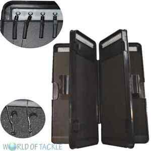 Rig Wallet 6 Way Stiff Hair Rig NGT Tackle Box for 72 Hair Rigs Carp Fishing