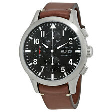 Aerowatch The Grand Classics Pilot Automatic Chronograph Mens Watch A 61968 AA03