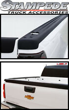 Stampede Ribbed Bed Rails & Tailgate Cap w/Holes 1999-2006 Chevy GMC 6.5' Bed