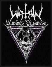 WATAIN-Lawless Darkness patch écusson Black Metal Satan The Wild Hunt Neuf