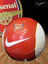 New NIKE ARSENAL Football  Red White Size 5