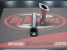 1X Pair. Flush Mount Angled Rod Holder - Stainless Steel
