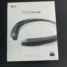 Genuine Lg Tone Infinim Hbs-910 Bluetooth Wireless Headset Black