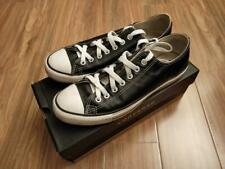 ConverseAll Star Lace Leather Black - size US 8.5 (runs large)