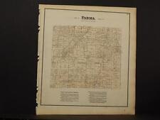 Ohio Cuyahoga County Map Parma Township  1874  K11#73