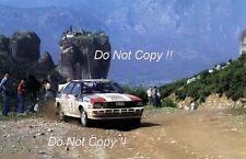Michele Mouton Audi Quattro Tour De Corse Rally 1982 Photograph