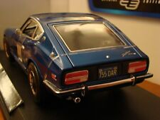 1/18 Datsun 240Z 1971 Coupe Blue Rare New with Box 370 GT 350 Nissan GTR
