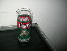 Original Coca-Cola Softdrink 0,3 L  seltene Design trade-mark Glas Gläser #and