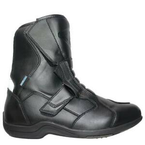 MTECH Motorcycle Touring Boots WaterProof Bike Boots A Grade Leather Boots