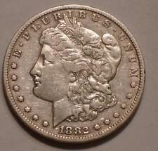 1882 CC Morgan Silver Dollar full Detail CARSON CITY