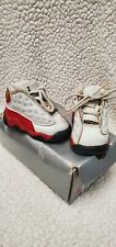 Nike AirJordan Retro Sneakers Baby Infant Shoes White Red Black size 2c