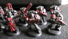 Warhammer 40K Dark Angels Space Marines tactical squad from Dark Vengeance B